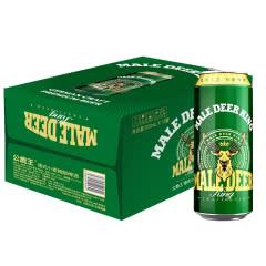 公鹿王德式小麦精酿啤酒500ml*12