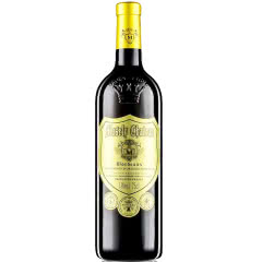 法国红酒(原瓶原装)进口玛莎内金樽13度浮雕款雕花重型瓶干红葡萄酒750ml单瓶装