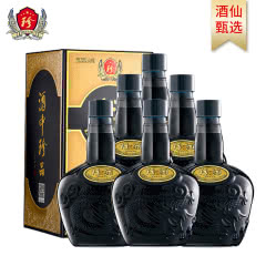 53°珍酒老珍酒 易地茅台贵州珍酒酱香型白酒固态纯粮酒500ml*6整箱【新老包装随机发】