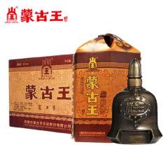 蒙古王52度金帐9系列整箱500ml*4 高度浓香内蒙古草原特产白酒