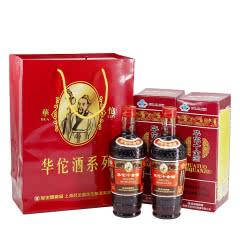 包邮原产地上海发货冠生园食品华佗十全酒24.5度445ml*2瓶礼袋装发京东快递