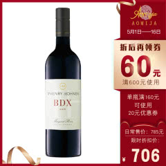 M32澳蜜国际澳洲原装进口红酒麦赫恩海瑟葡萄园BDX珍酿红葡萄酒2016年750ml 单瓶