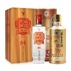 53°茅台王子酒(酱香经典)500ml+52°全兴大曲荣耀(1984) 500ml