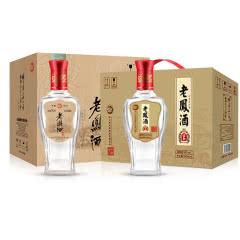 52度纯粮酒 老凤酒 醇藏+柔和 浓香型固态纯粮白酒 500ml 整箱特价组合装