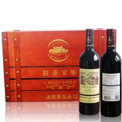 拉菲家族干红葡萄酒法国原瓶进口750ml*6瓶