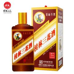 55度鼠咬天开限量版鼠年生肖纪念收藏酒米香型桂林三花酒580ml