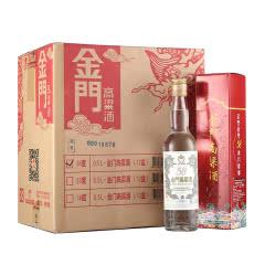 58°金门高粱酒白金龙红盒版500ml*12瓶整箱装 台湾原瓶进口高粱酒