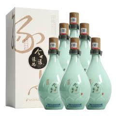 42°今世缘缘思 浓香型白酒 500ml*6瓶整箱装 口粮酒