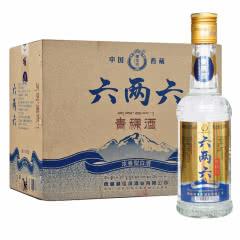 藏佳纯青稞酒 六两六浓香型白酒42度330ml*12瓶 整箱装光瓶