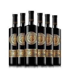 红酒澳洲进口干红葡萄酒14度美乐澳大利亚原酒进口高档送礼750ml*6瓶