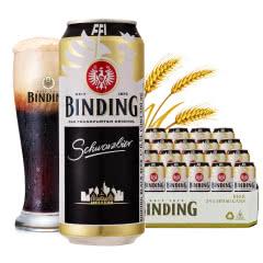 冰顶(binding)德国进口黑啤酒500ml(24听装)