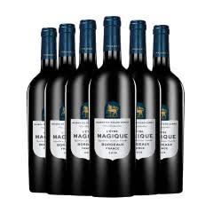 光之颂亿盛境系列波尔多红葡萄酒 750m*6瓶 法国原瓶进口红酒