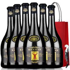 法国红酒进口红酒14度老藤珍酿浮雕手握瓶赤霞珠慕依典藏葡萄酒750ml*6瓶整箱装