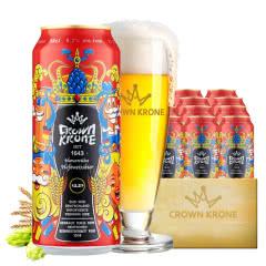 德国进口皇冠啤酒小麦白啤酒500ML(24听装)