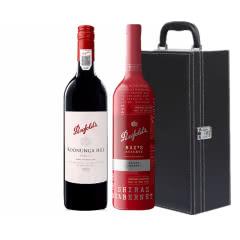 奔富麦克斯升级版珍藏铂金西拉赤霞珠+寇兰山设拉子干红葡萄酒750ml (2瓶装)