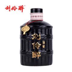刘伶醉 白酒 酒篓 60度 500ml 单瓶装 浓香型 光瓶