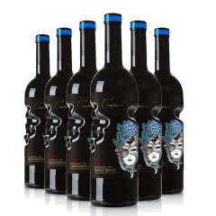 法国·金丝雀干红葡萄酒750ml*6瓶