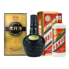53°茅台王子酒500ml+53°珍酒老珍酒500ml
