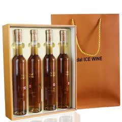 艾克希维黛尔冰白葡萄酒375ml*4瓶礼盒装