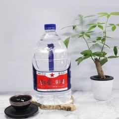 正品红星二锅头高度清香型白酒 52度5L单桶装