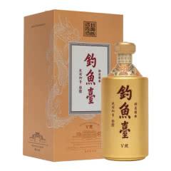 53°贵州钓鱼台V玖酱香型白酒送礼经典酱香500ml(单瓶)
