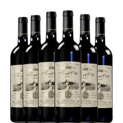 法国原酒进口奥特龙堡甜红葡萄酒750ml整箱装