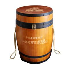 卡图磨坊干红葡萄酒750ml*4瓶 *1木桶装