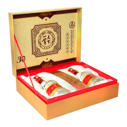 52°五粮液股份公司出品一尊天下好事成双礼盒 浓香型白酒礼盒装礼品酒500ml(2瓶装)
