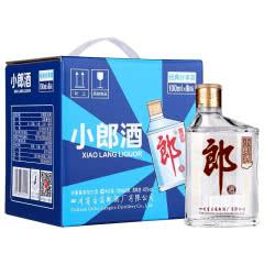45° 郎酒 小郎酒 整箱装白酒 100ml*6瓶 兼香型 箱装