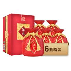 52°酒鬼高度柔和红坛 500ml*6瓶