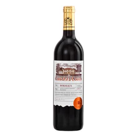 法国原瓶进口罗蒂庄园帕桐干红葡萄酒单瓶装750ml