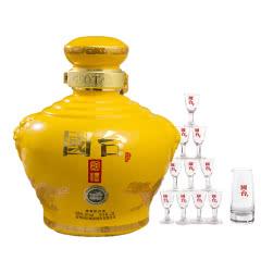 53°贵州国台酒 国台國禮精装版 酱香型白酒2500ml(2.5L/坛)