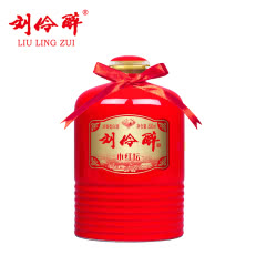 刘伶醉 白酒 小红坛 52度 500ml 光瓶 浓香型