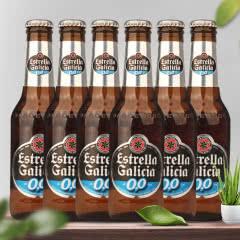 西班牙原装进口啤酒 埃斯特拉无醇啤酒250ML*6瓶