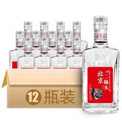 42°北京二锅头清香型白酒(红)500ml*12瓶