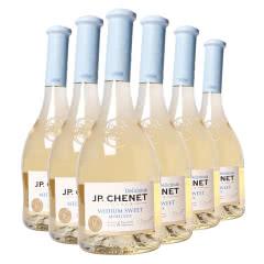 法国进口 香奈 J. P. Chenet 甜蜜系列 特瑞特白葡萄酒 750ml*6瓶