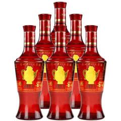 52°平坝窖酒 盛世经典红 浓酱兼香型 500ml*6瓶