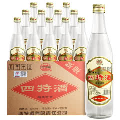 52°老四特酒绵柔特香500ml(12瓶装)