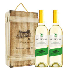 智利进口珍品干白750ml*2瓶礼盒装