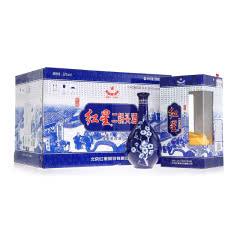 红星52度珍品蓝花瓷二锅头(500ml*6瓶)