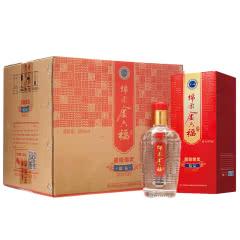 金六福 绵柔精品50度375ml*6瓶整箱白酒(新老包装随机发货)