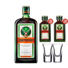 野格(Jagermeister)洋酒 德国 野格利口酒700ml