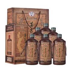 53°茅台集团 茅台不老酒(V35) 商务 宴会 礼品 酱香型白酒整箱500ml*6瓶