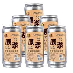 啤酒 原浆精酿西蒙白啤原浆鲜啤全麦芽发酵罐装1L*6瓶