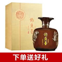 53°钓鱼台古法匠心酒龙坛酱香型白酒礼盒装1000ml