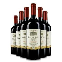 波尔多百景庄园干红葡萄酒750ml(6瓶装)