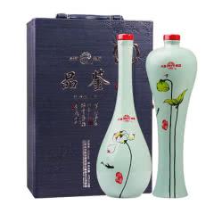 53°汾酒集团 品鉴 礼盒酒清香型白酒475ml*2瓶