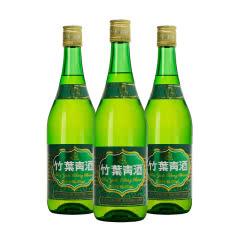 山西杏花村 汾酒38度竹叶青酒 玻璃瓶光瓶475mlX3瓶