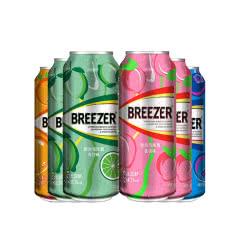 百加得冰锐(Breezer)洋酒 3°朗姆预调鸡尾酒 缤纷四口味套装 缤纷6罐装