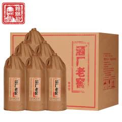 53°赖锦初 酒厂老窖 酱香型白酒 贵州茅台镇 固态纯粮 整箱500ml*6瓶